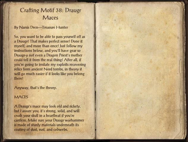 File:Crafting Motifs 38, Draugr Maces.png