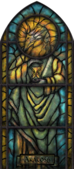 Akatosh Stained Glass