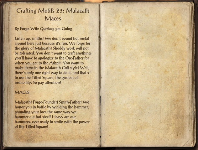 File:Crafting Motifs 23, Malacath Maces.png