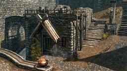 Guard barracks whiterun