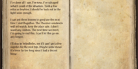 Jofnir's Journal (Fort Amol)