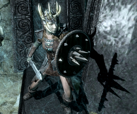 File:Wielding Targe of the Blooded.png