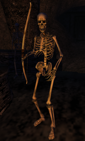 File:Skeleton Archer Morrowind.png