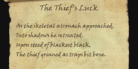 The Thief's Luck