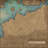 Alik'r Desert Map