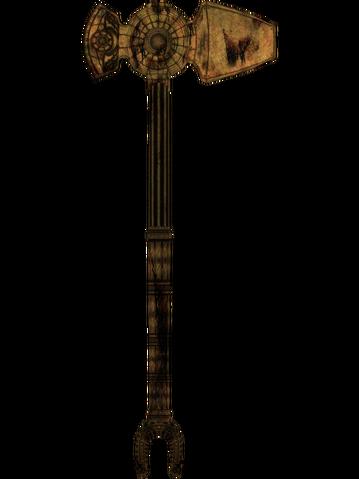 File:Oblivion DwarvenWarhammer.png