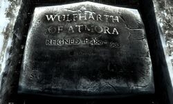 Wulfharth plaque Windhelm