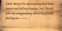 Scrawled Note (Dragonborn)