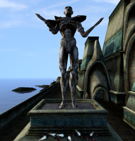 File:Vivec, Temple Statue 1 - Morrowind.png