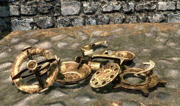 Skyrim dwemer artifacts