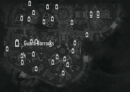 Guard barracks map whiterun