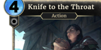 Knife to the Throat