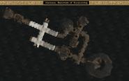 Mamaea, Sanctum of Awakening Interior Map - Morrowind