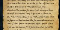 Snorfin's Notes: Arkngthunch-Sturdumz