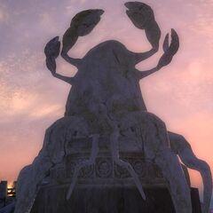 Hermaeus Mora w postaci Pomnika