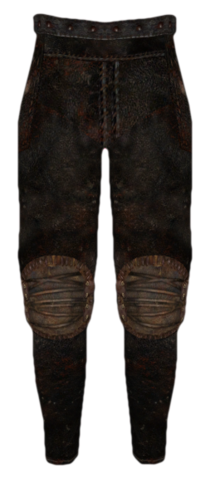 File:Leather Greaves (Oblivion).png