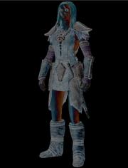Aela the huntress 3D program 2