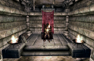 Fort Wooden Hand Throne