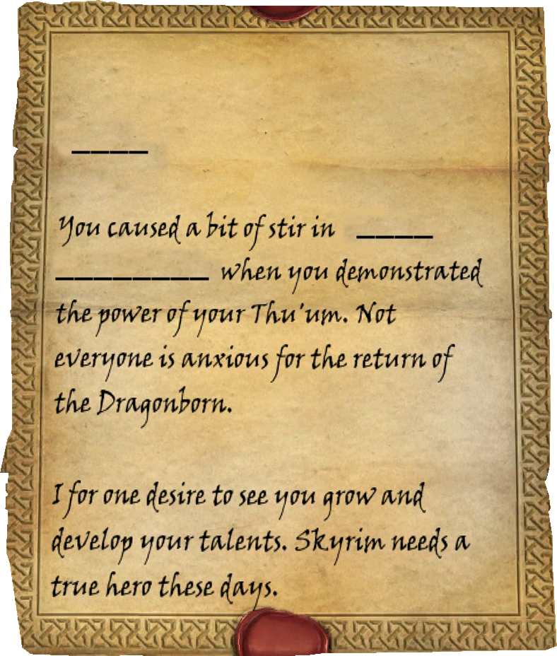 skyrim letter from a friend letter from a friend elder scrolls fandom powered by wikia 24897 | latest?cb=20121228104407