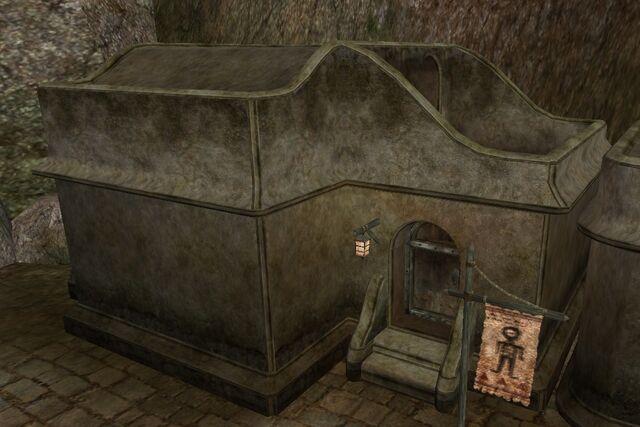 File:TES3 Morrowind - Balmora - Milie Hastien Fine Clothier exterior.jpg