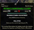 Betina's Fashionable Gloves