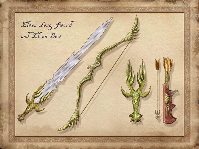 File:TESIV Concept Elven Weapons.jpg