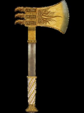 File:Golden War Axe.png
