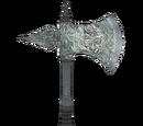 Silver War Axe (Oblivion)