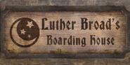 TESIV Sign LutherBroadsBoardingHouse