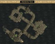 Massama Cave Interior Map Morrowind