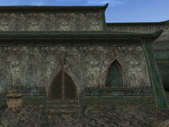 File:Mournhold Great Bazaar Bookseller Exterior View.png