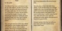 The Time of the Ebonheart Pact
