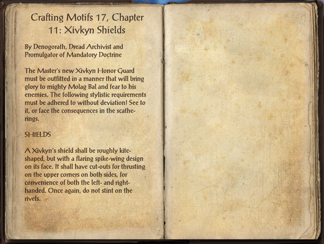 File:Crafting Motifs 17, Chapter 11, Xivkyn Shields.png