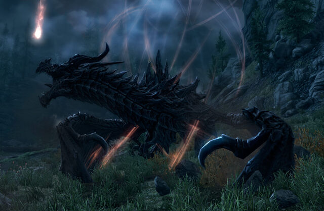 ไฟล์:Alduin in Sovngarde.jpg