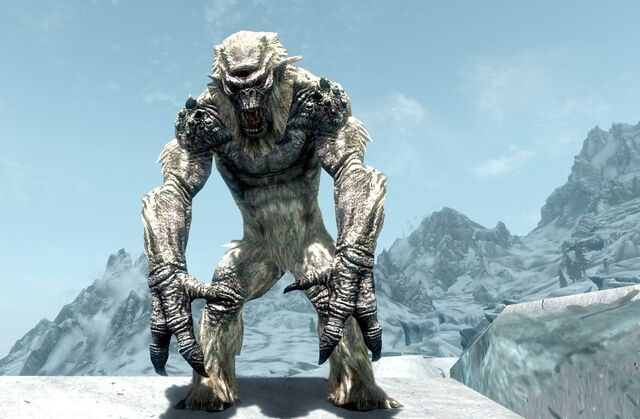 File:FrostTroll Skyrimmountain.jpg