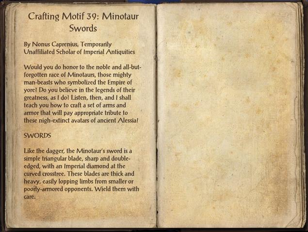 File:Crafting Motifs 39, Minotaur Swords.png