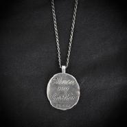 Dark Brotherhood Medallion Necklace (Back)