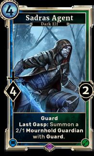 Sadras Agent (Legends)