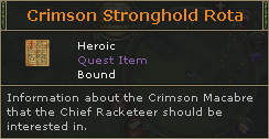 Crimson Stronghold Rota