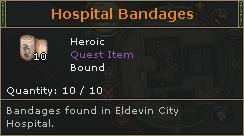 Hospital Bandages