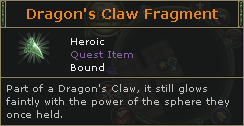 Dragons Claw Fragment