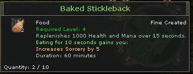 Baked Stickleback