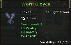 WornGloves