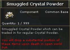SmuggledCrystalPowder