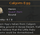 Calgorn Egg
