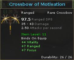 Crossbow of Motivation