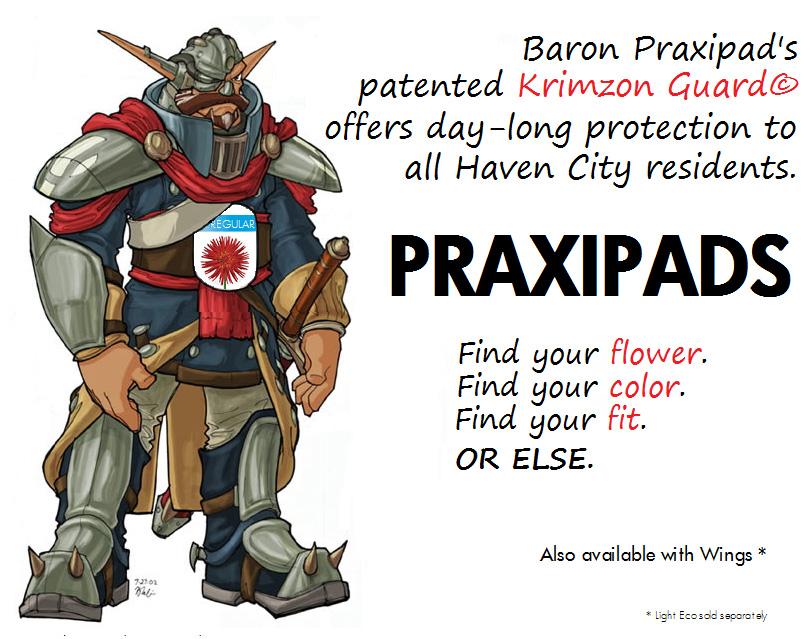 Praxipads