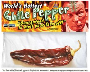 Hottest pepper slide
