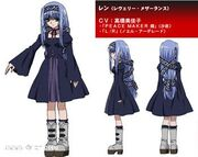 Ren character design