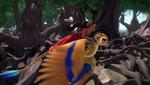 Skylar hurt his wing
